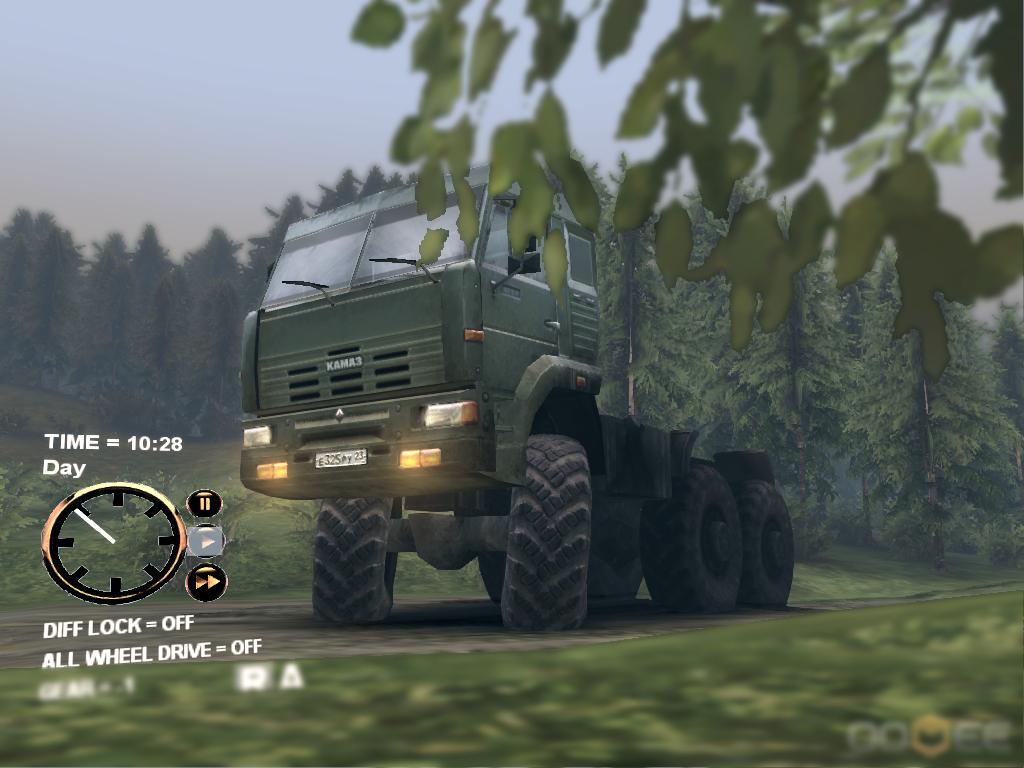 Скачать мод грузовик КамАЗ для Spintires 2013