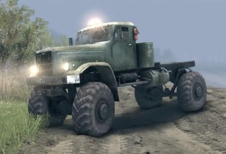 Скачать мод грузовик КРАЗ для Spintires 2013