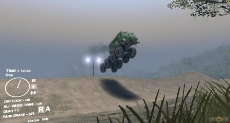 Скачать мод грузовик МАЗ монстер прыгун для Spintires 2013
