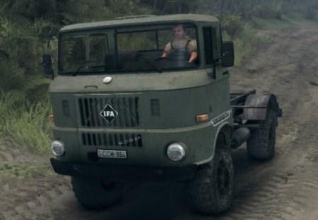 Скачать мод грузовик IFA для Spintires 2013