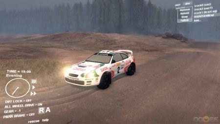 Скачать мод на машину Toyota Celica для Spintires 2013