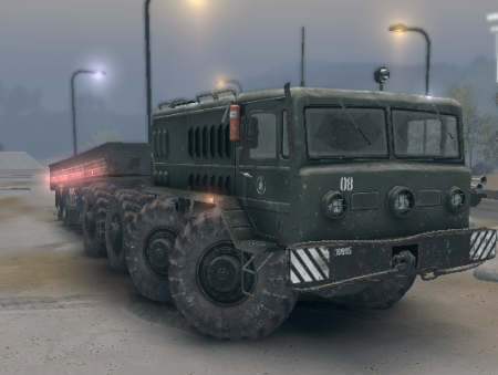 Скачать мод на грузовик МАЗ Hauler для Spintires 2013