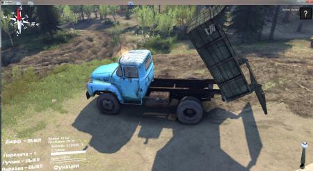 Скачать мод грузовик ЗИЛ самосвал для Spintires 2014