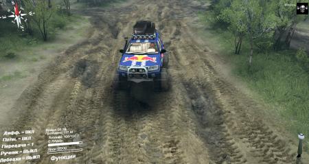 Скачать мод Jeep Grand Cherokee для Spintires 2014