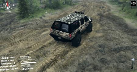 Скачать мод машину Chevrolet Suburban для Spintires 2014
