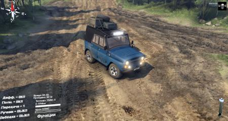 Скачать мод на УАЗ-31512 для Spintires 2014