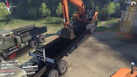 Скачать мод новые прицепы для грузовиков Spintires 2014