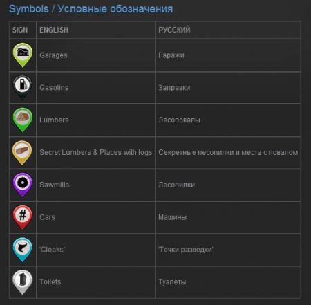 Открытая карта Побережье в игре Spintires 2014