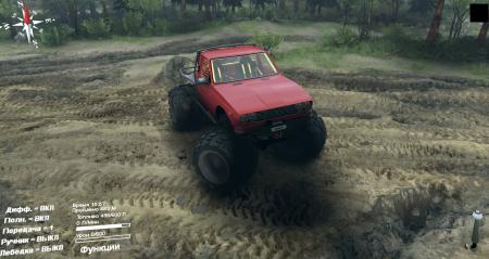 Скачать мод Toyota Hilux Truggy для Spintires 2014