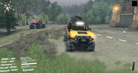 Скачать мод Hummer H2 для Spintires 2014