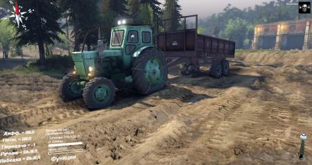 Скачать мод на трактор Т-40АМ для Spintires 2014