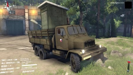 Скачать мод на грузовик Praga V3S для Spintires 2014