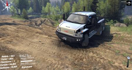 Скачать мод на грузовик GMC C4500 Spintires 2014