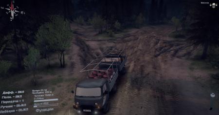 Скачать мод грузовик УАЗ 29232 для Spintires 2014