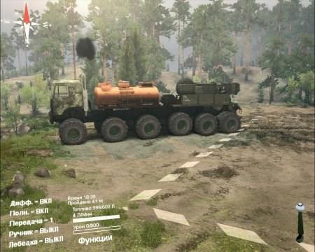 Скачать мод грузовик МАЗ-5516 для Spintires 2014
