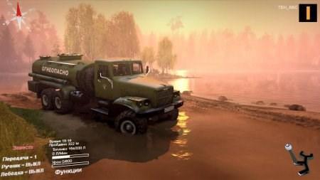 Скачать мод грузовик КРАЗ 255Б для Spintires 2014