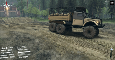 Скачать мод грузовик УАЗ 456 для Spintires 2014