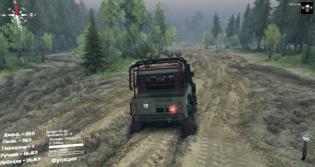 Скачать мод УАЗ 469G для Spintires 2014