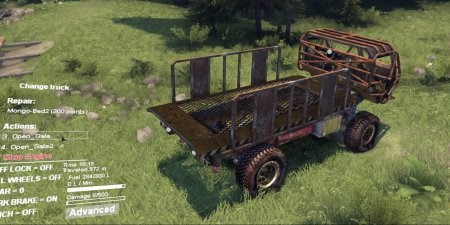 Скачать мод грузовик Mongo Heist ST для Spintires 2014