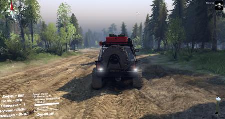 Скачать мод Jeep Cherokee XJ для Spintires 2014