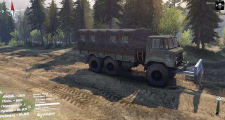 Скачать мод грузовик ГАЗ-34 для Spintires 2014