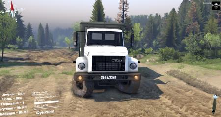 Скачать мод грузовик ГАЗ Садко для Spintires 2014