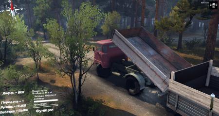 Скачать мод на грузовик IFA W50 для Spintires 2014