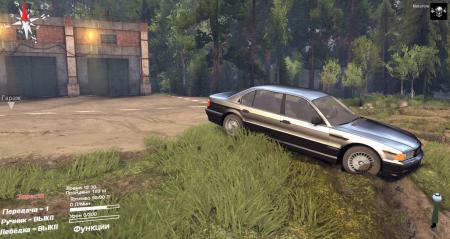 Скачать мод BMW 750LI E38 для Spintires 2014