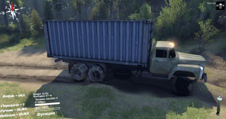 Скачать мод грузовик ЗиЛ-133 ГЯ и ЗиЛ-133 Г1 для Spintires 2014
