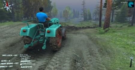 Скачать мод трактор Kramer KL-200 для Spintires 2014