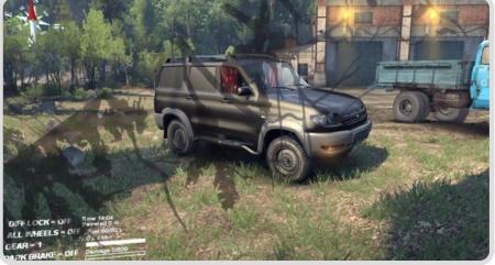 Мод UAZ Patriot v 1.0 для Spintires 2014