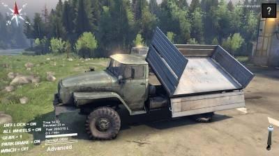 """Скачать мод грузовик """"УРАЛ-43206 v1.0"""" для Spintires 2014"""