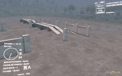 Карта для Spintires 2013 - Guirbaden-map 1.4
