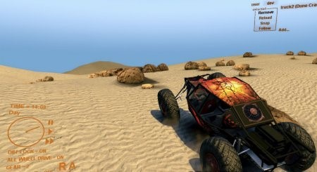 Карта DAKAR map v 0.5 для Spin Tires 2013 DEV DEMO