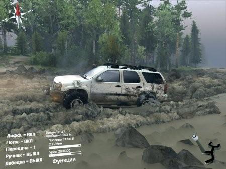 Скачать мод Chevrolet Tahoe для Spintires 2014