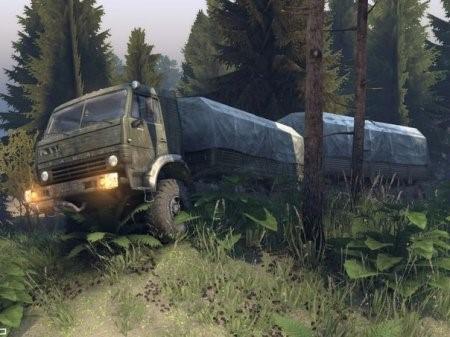 """Скачать мод грузовик """"КамАЗ-65201"""" для Spintires 2014"""