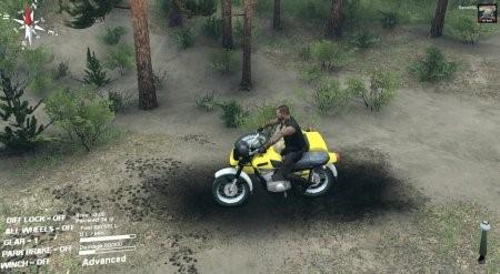 Скачать мод мотоцикл ИЖ Планета-5 v 1.0 для Spintires 2014