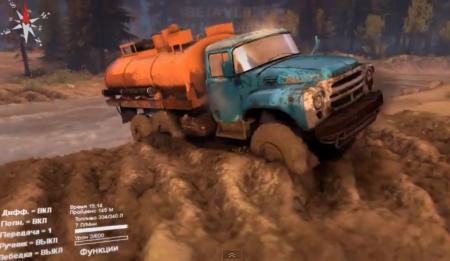 """Скачать мод грузовик """"ЗиЛ-165 v1.0"""" для Spintires 2014"""