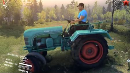 Скачать мод трактор Kramer kl200 для Spintires 2014