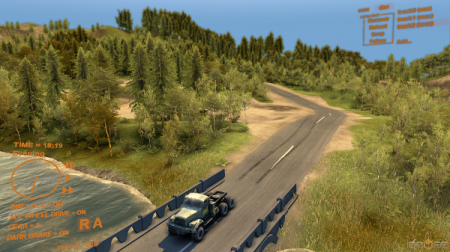 Карта Level-up map V0.8 для Spintires 2013 DEV DEMO