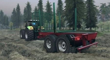 Скачать мод трактор Deutz-Fahr X720 v1.0 для Spintires 2014