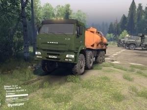 Скачать мод грузовик Камаз Ураган версия 2.0 для SpinTires 2014