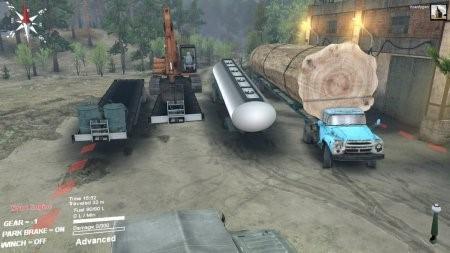 Сетевой пак грузовиков для Spintires 2014