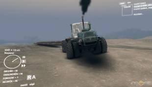 Скачать мод трактор Т-150К v1.0 для Spintires 2014