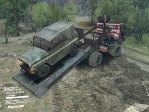 Скачать мод грузовик Камаз Монго Эвакуатор для SpinTires 2014