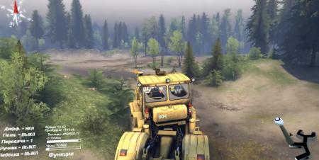 Скачать мод трактор К700 для Spintires 2014