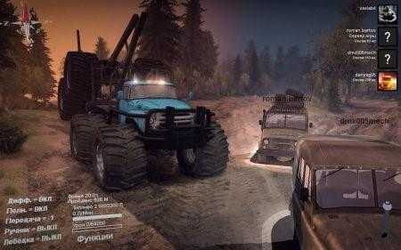Скачать мод грузовик Терминатор ЗИЛ 130 для сетевой игры Spintires 2014