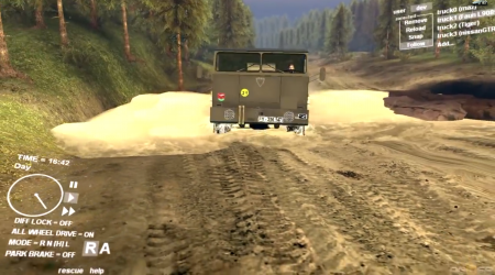 Карта Chocomap 0.5 для Spintires 2013 DEV DEMO