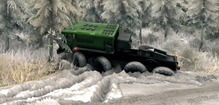 Мод Зима для Spintires 2013 DEV DEMO