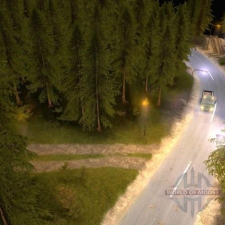 The Draft Map for Spintires 2014